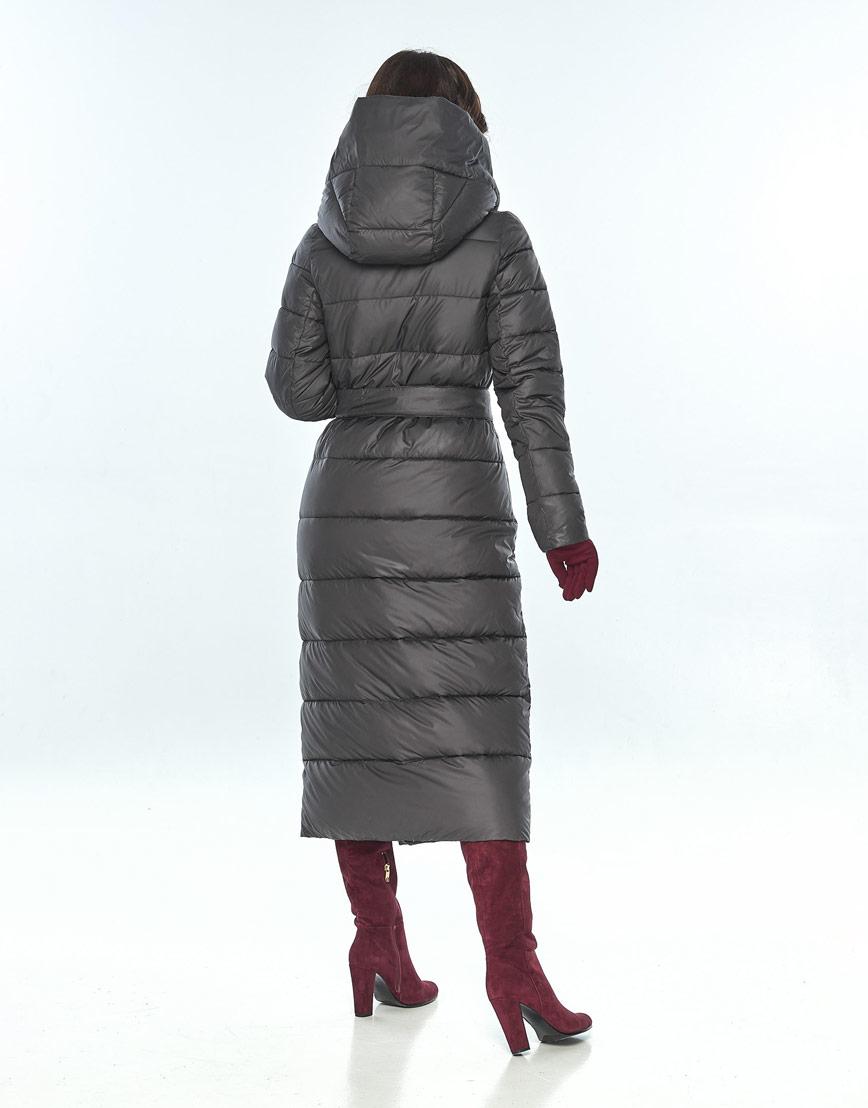 Удобная куртка серая женская Vivacana 9405/21 фото 3