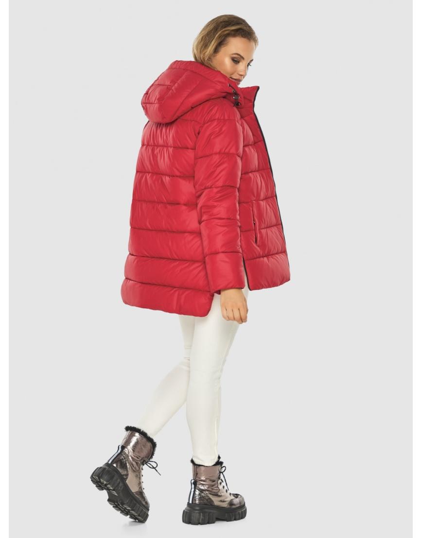 Зимняя комфортная красная куртка подростковая Kiro Tokao 60041 фото 1