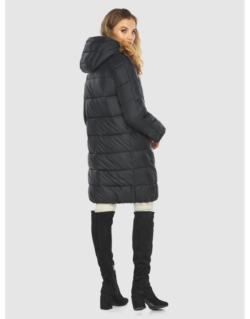 Куртка чёрная женская практичная Kiro Tokao 60048 фото 4