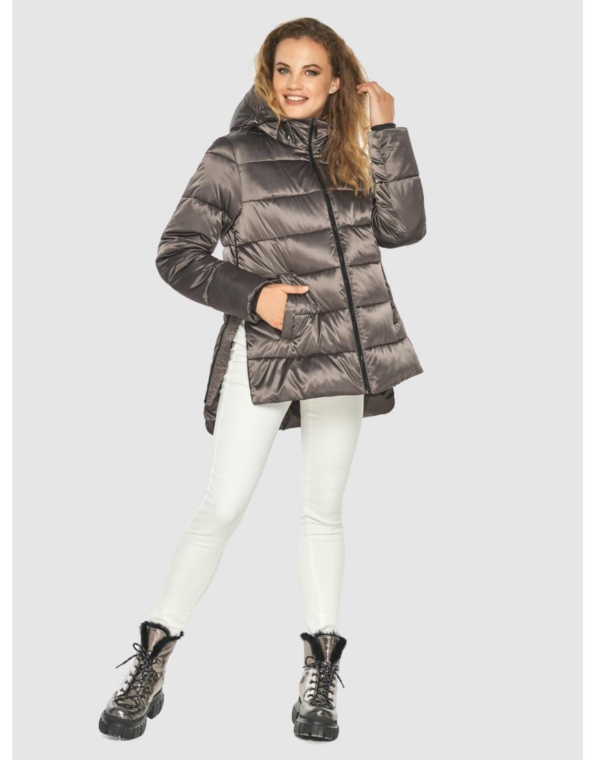 Подростковая куртка Kiro Tokao капучиновая зимняя модная 60041 фото 6