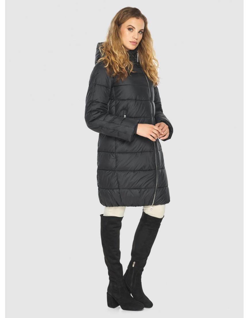 Куртка чёрная женская практичная Kiro Tokao 60048 фото 5