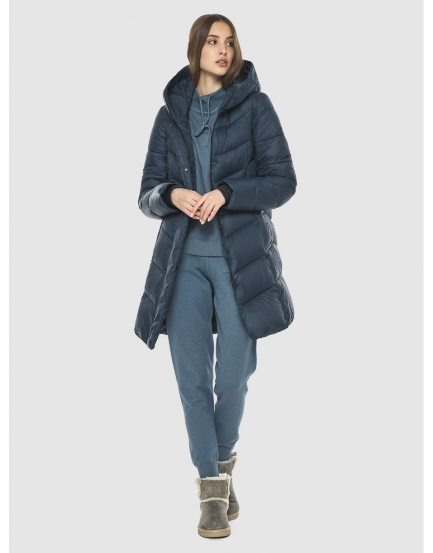 Удобная куртка подростковая Vivacana синяя 7821/21 фото 2
