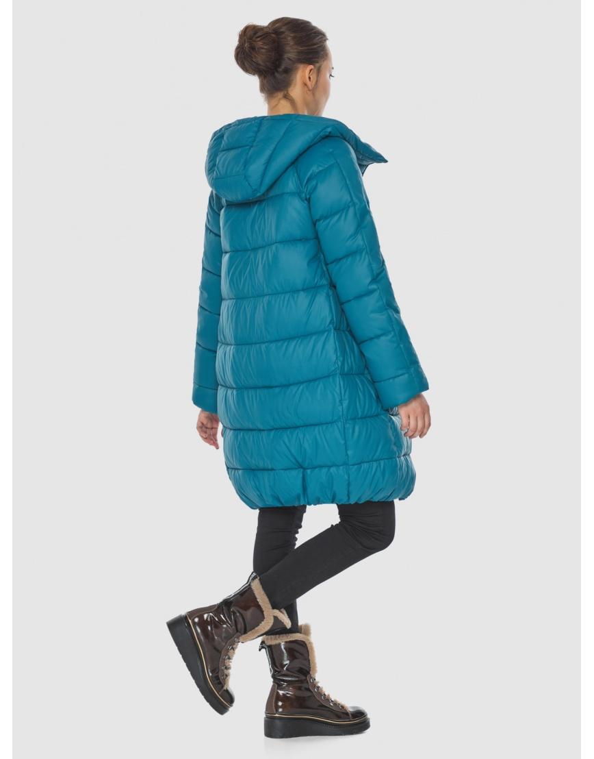 Аквамариновая куртка модная женская Wild Club 526-10 фото 3