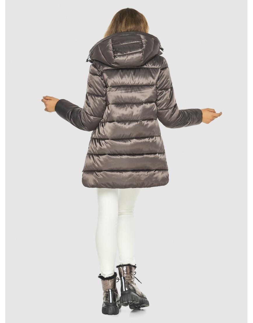 Подростковая куртка Kiro Tokao капучиновая зимняя модная 60041 фото 4
