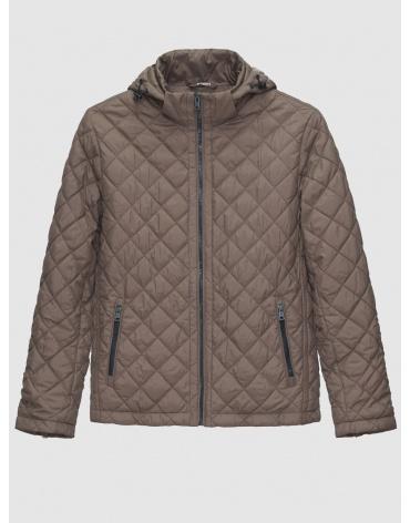 48 (M) – последний размер – коричневая куртка Braggart осенняя мужская стёганая 200014 фото 1