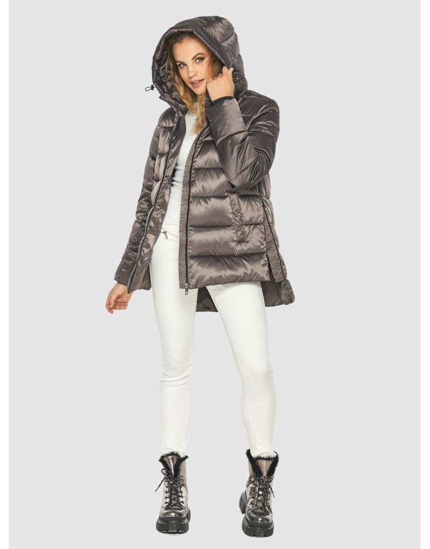 Подростковая куртка Kiro Tokao капучиновая зимняя модная 60041 фото 1