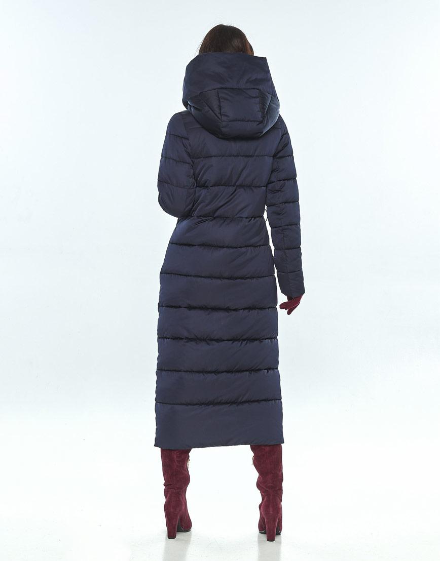Синяя куртка женская Vivacana фирменная 9405/21 фото 3