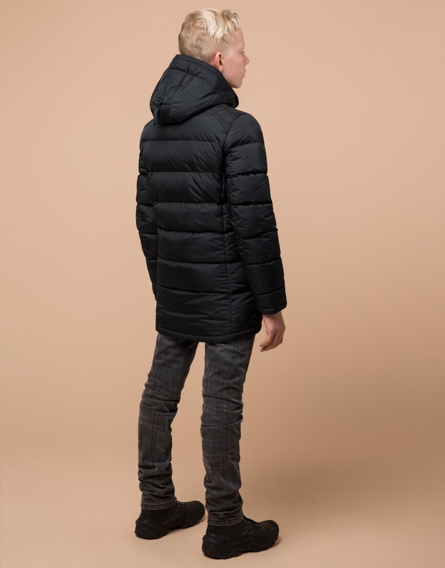 Куртка оригинальная детская цвет графит модель 60455 оптом фото 4