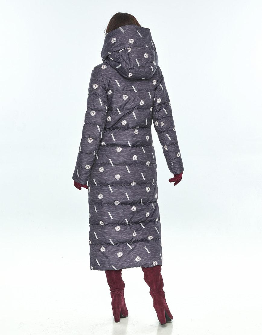 Длинная куртка с рисунком женская Vivacana 9405/21 фото 3