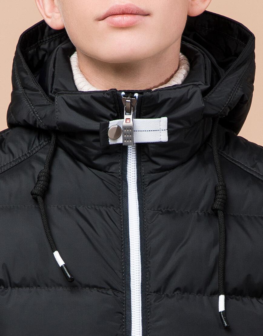 Куртка оригинальная детская цвет графит модель 60455 оптом фото 5