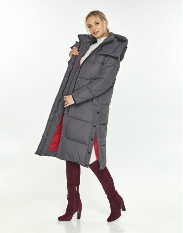 Куртка Kiro Tokao женская серая трендовая 60024 фото 1