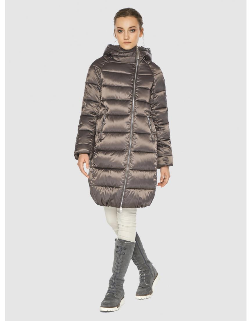 Капучиновая куртка Wild Club женская 526-10 фото 5