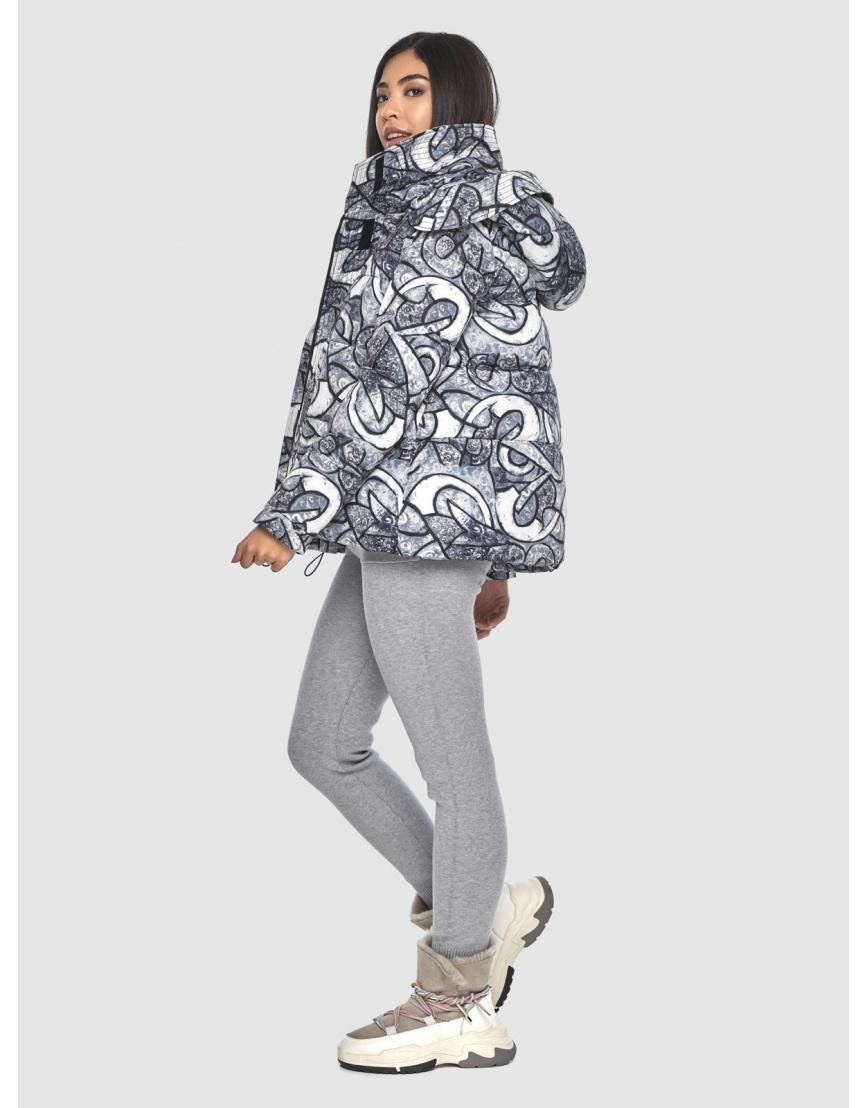 Короткая курточка с рисунком женская Moc M6981 фото 3