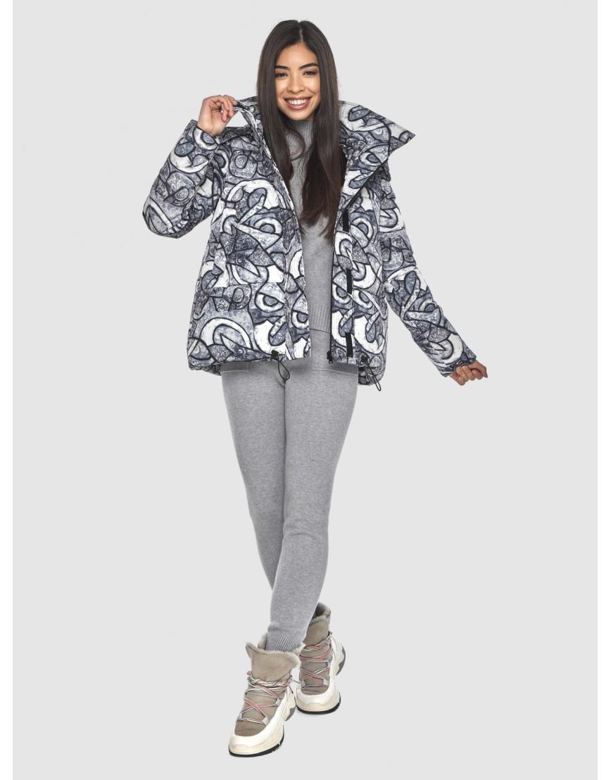 Короткая курточка с рисунком женская Moc M6981 фото 6