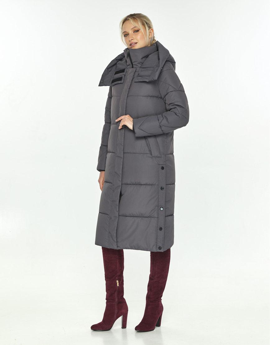 Куртка Kiro Tokao женская серая трендовая 60024 фото 2