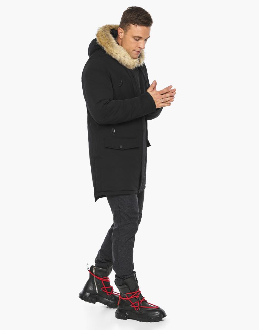 Черный воздуховик Braggart модного дизайна модель 45062 фото 5
