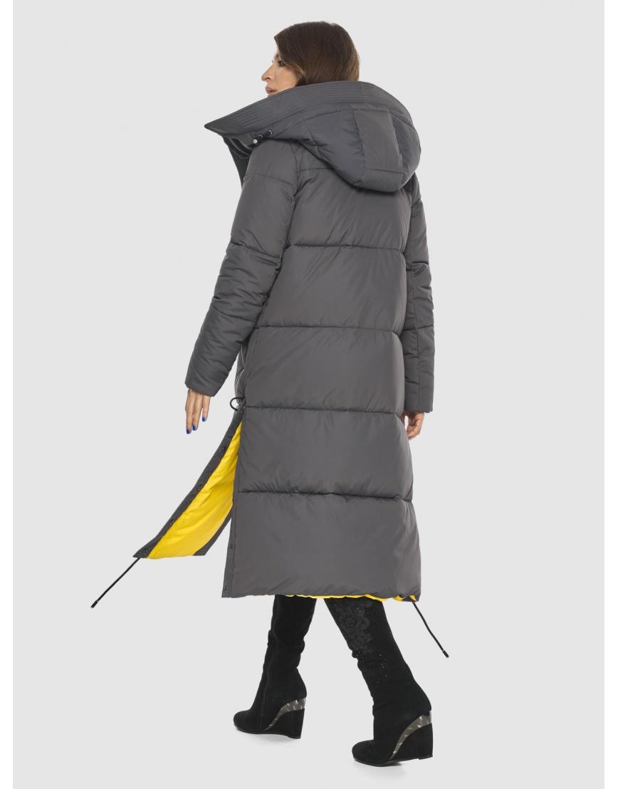 Куртка с капюшоном женская Ajento серая 23160 фото 4