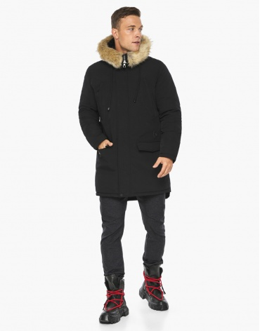 Черный воздуховик Braggart модного дизайна модель 45062 фото 1