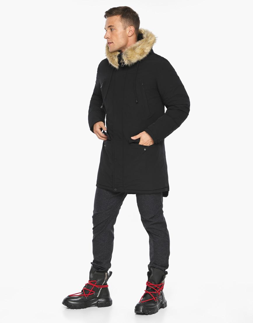 Черный воздуховик Braggart модного дизайна модель 45062 фото 4