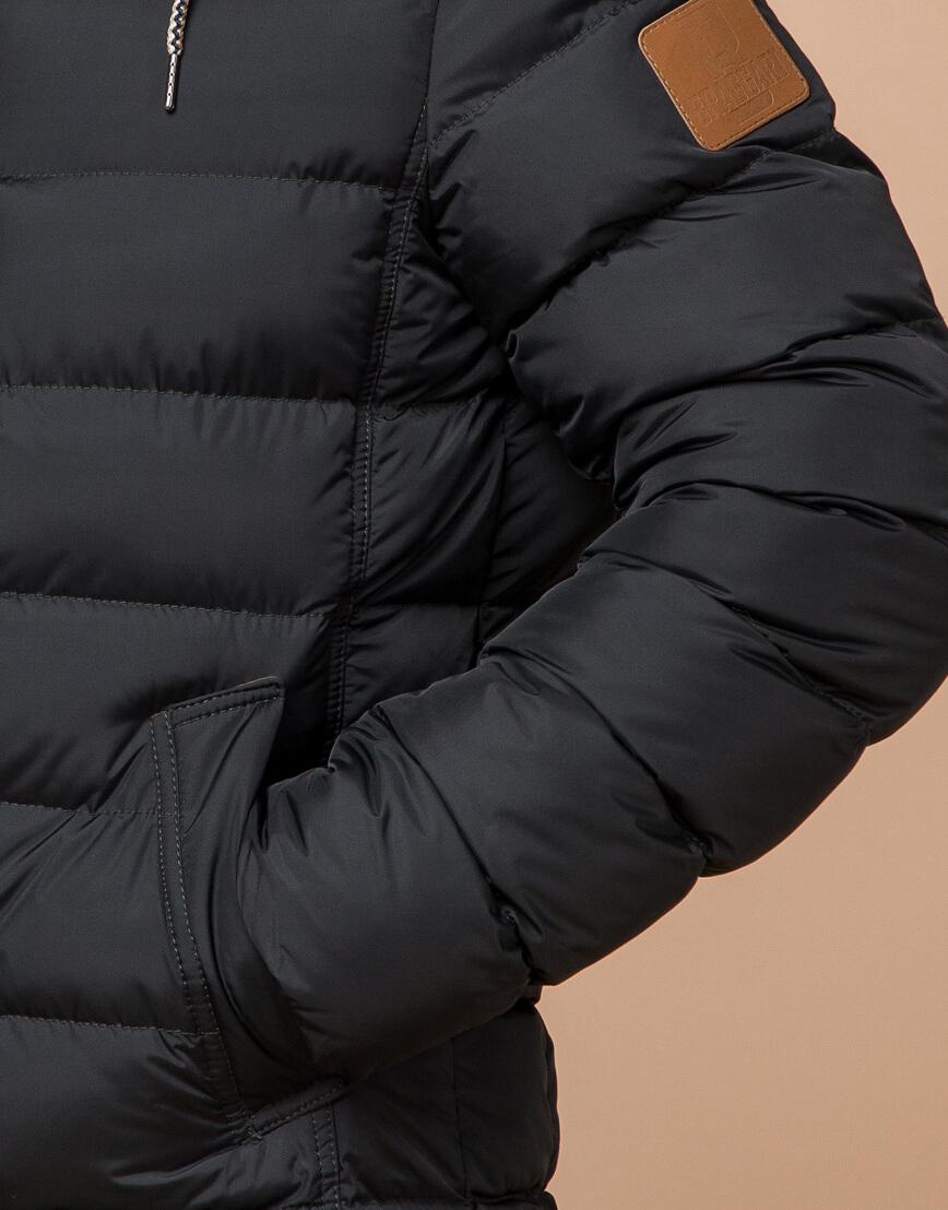 Графитовая зимняя куртка для мужчин модель 16115 оптом