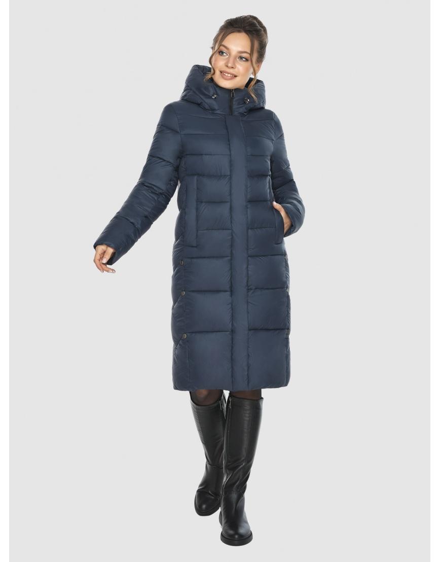 Брендовая куртка женская Ajento синего цвета 22975 фото 2