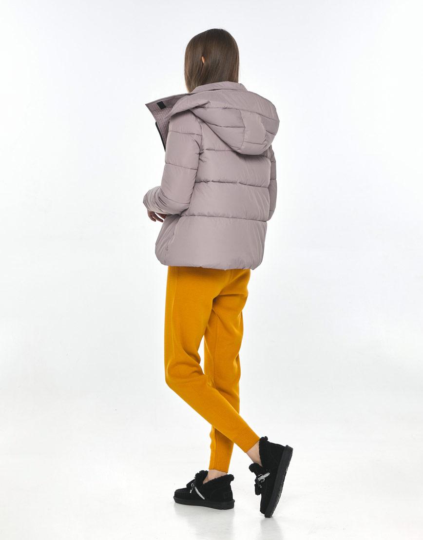 Женская комфортная куртка Vivacana пудровая 9742/21 фото 3