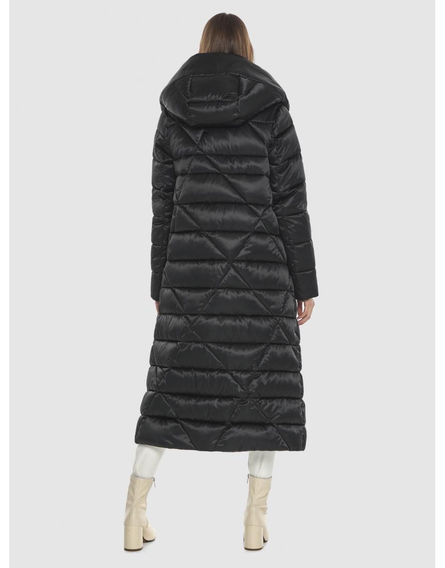 Курточка практичная подростковая Vivacana чёрная на зиму 9470/21 фото 4