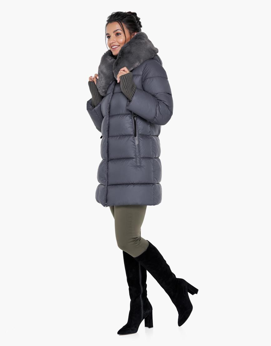 Модный воздуховик Braggart зимний женский цвет муссон модель 31027 фото 4