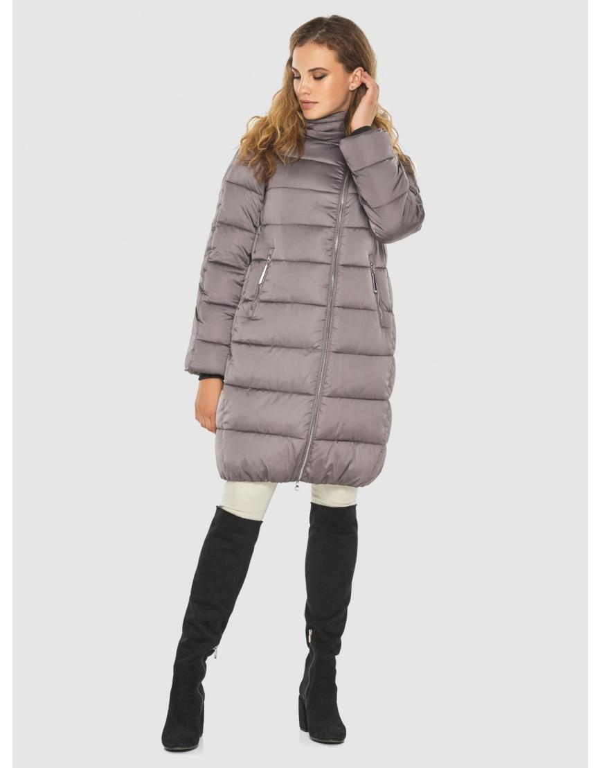 Женская трендовая пудровая куртка Kiro Tokao 60048 фото 6