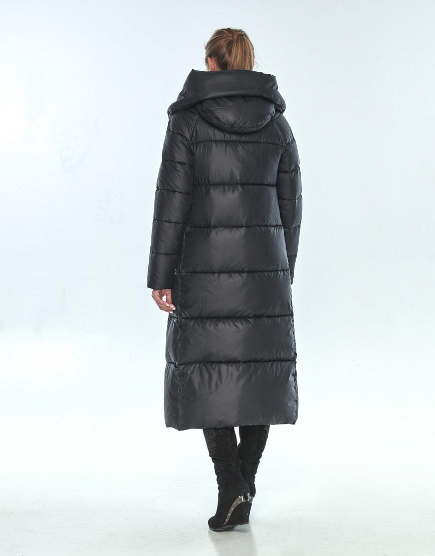 Куртка чёрная женская Ajento зимняя 21550 фото 3