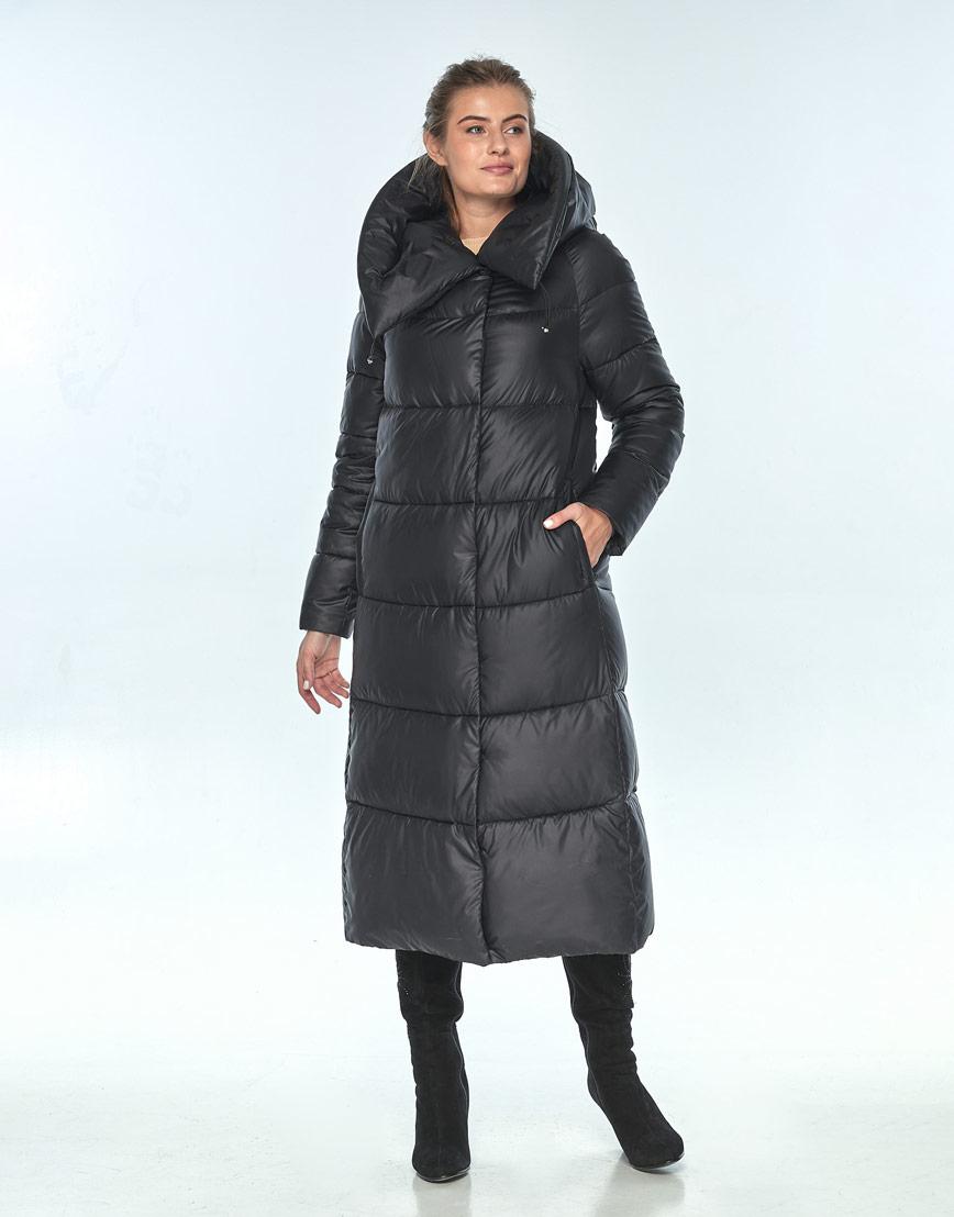 Куртка чёрная женская Ajento зимняя 21550 фото 1
