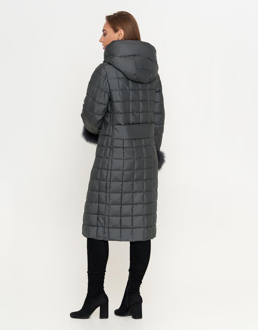 Куртка серая женская оригинальная модель 8924