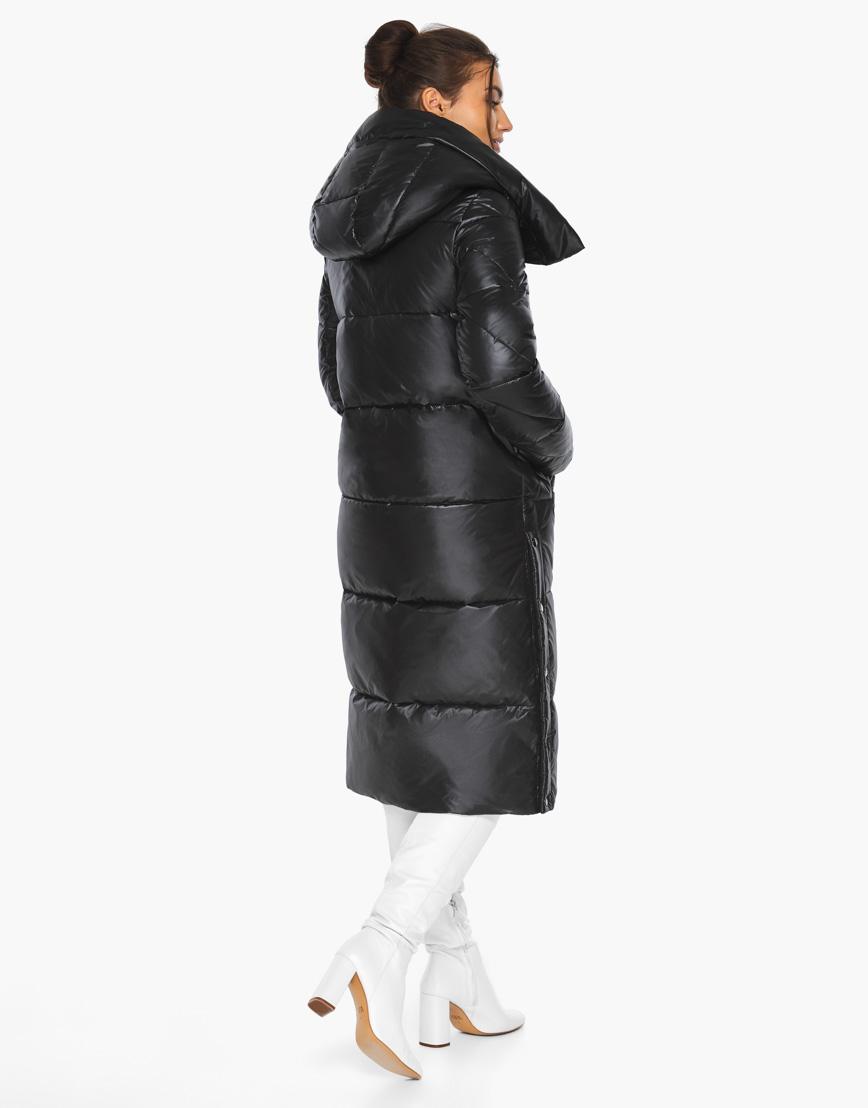 Модный воздуховик женский Braggart черный зимний модель 41565 фото 7