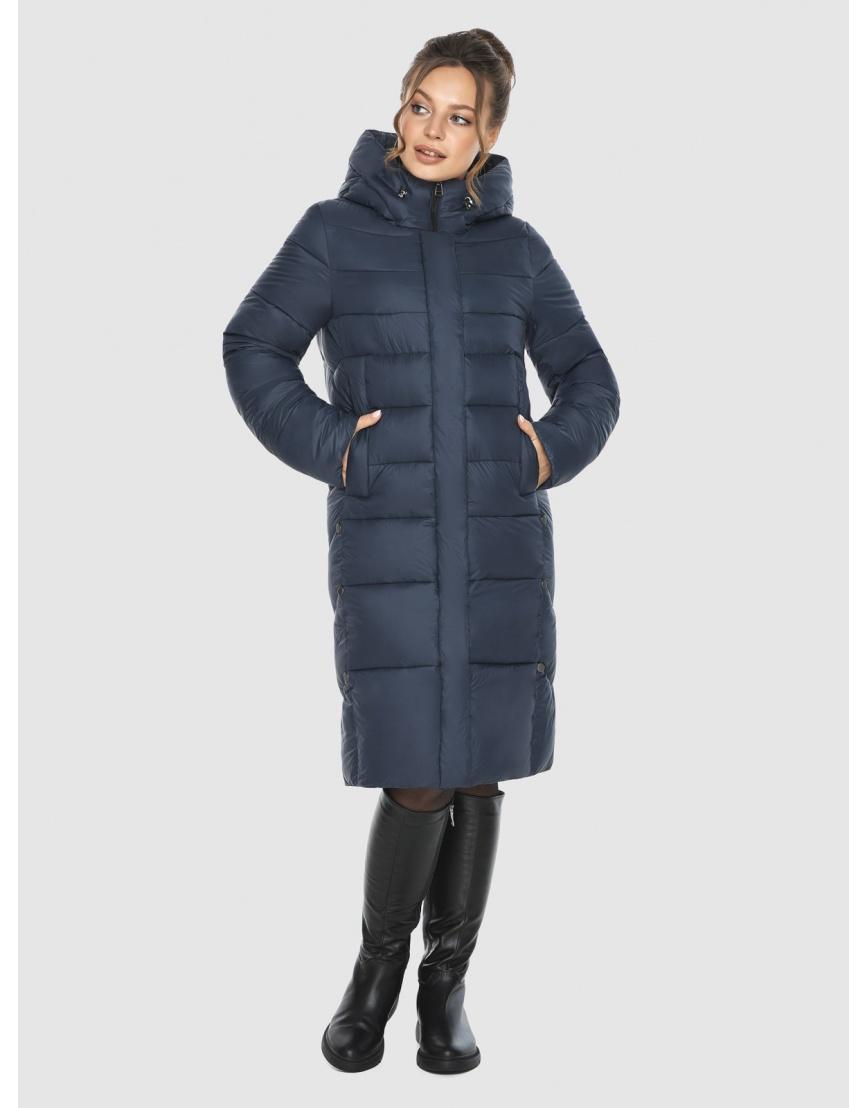 Брендовая куртка женская Ajento синего цвета 22975 фото 5