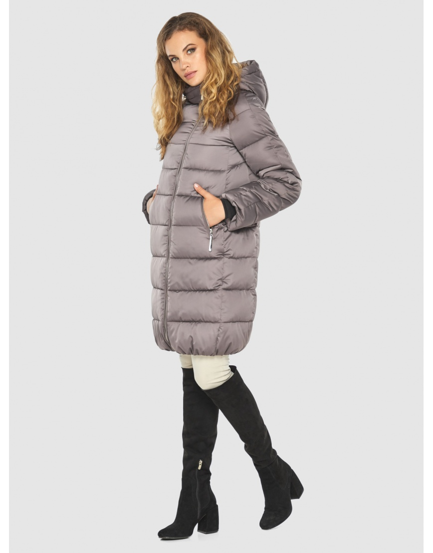 Женская трендовая пудровая куртка Kiro Tokao 60048 фото 5