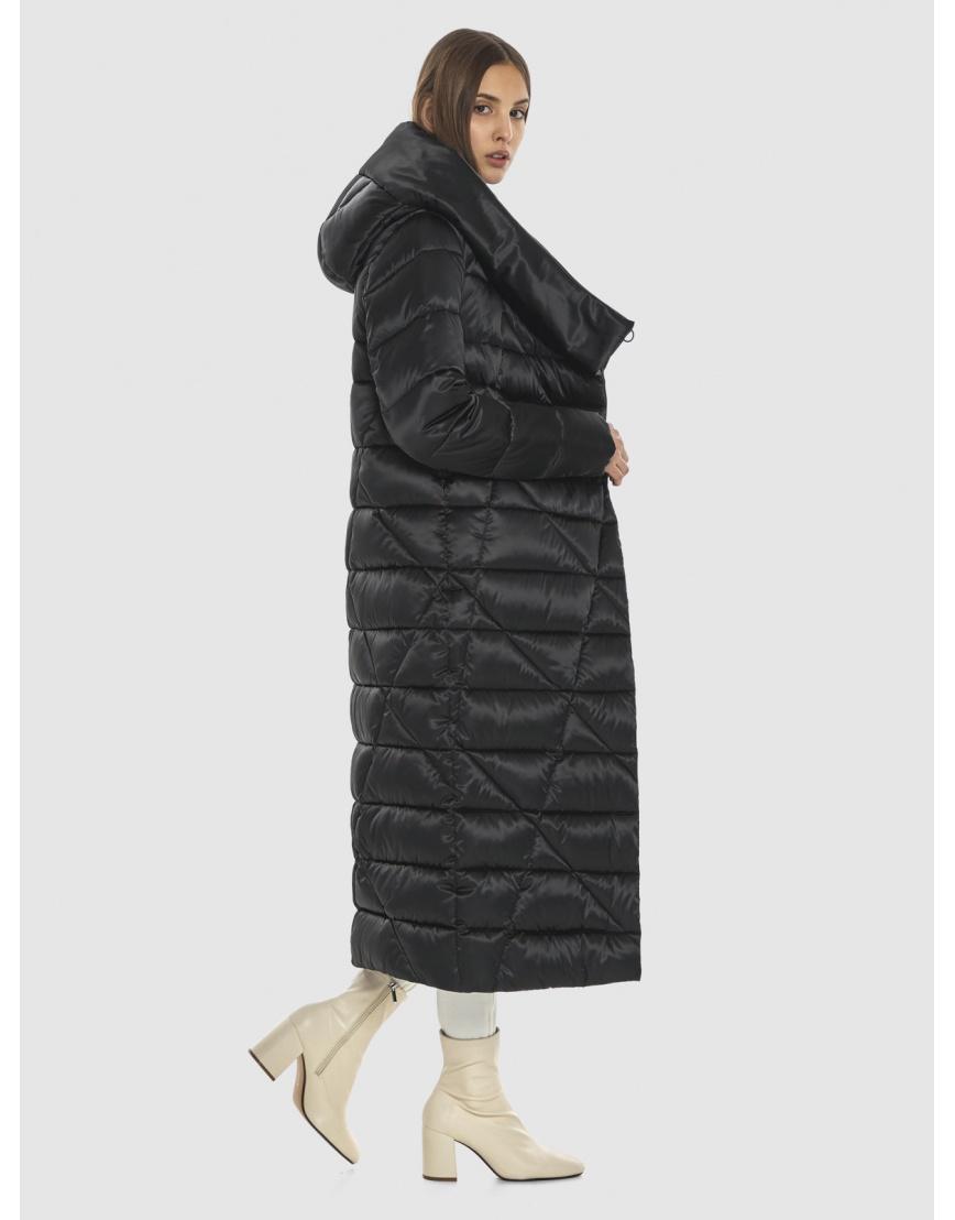 Курточка практичная подростковая Vivacana чёрная на зиму 9470/21 фото 5