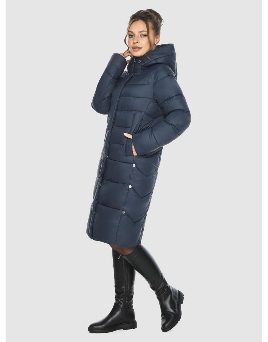 Брендовая куртка женская Ajento синего цвета 22975 фото 6