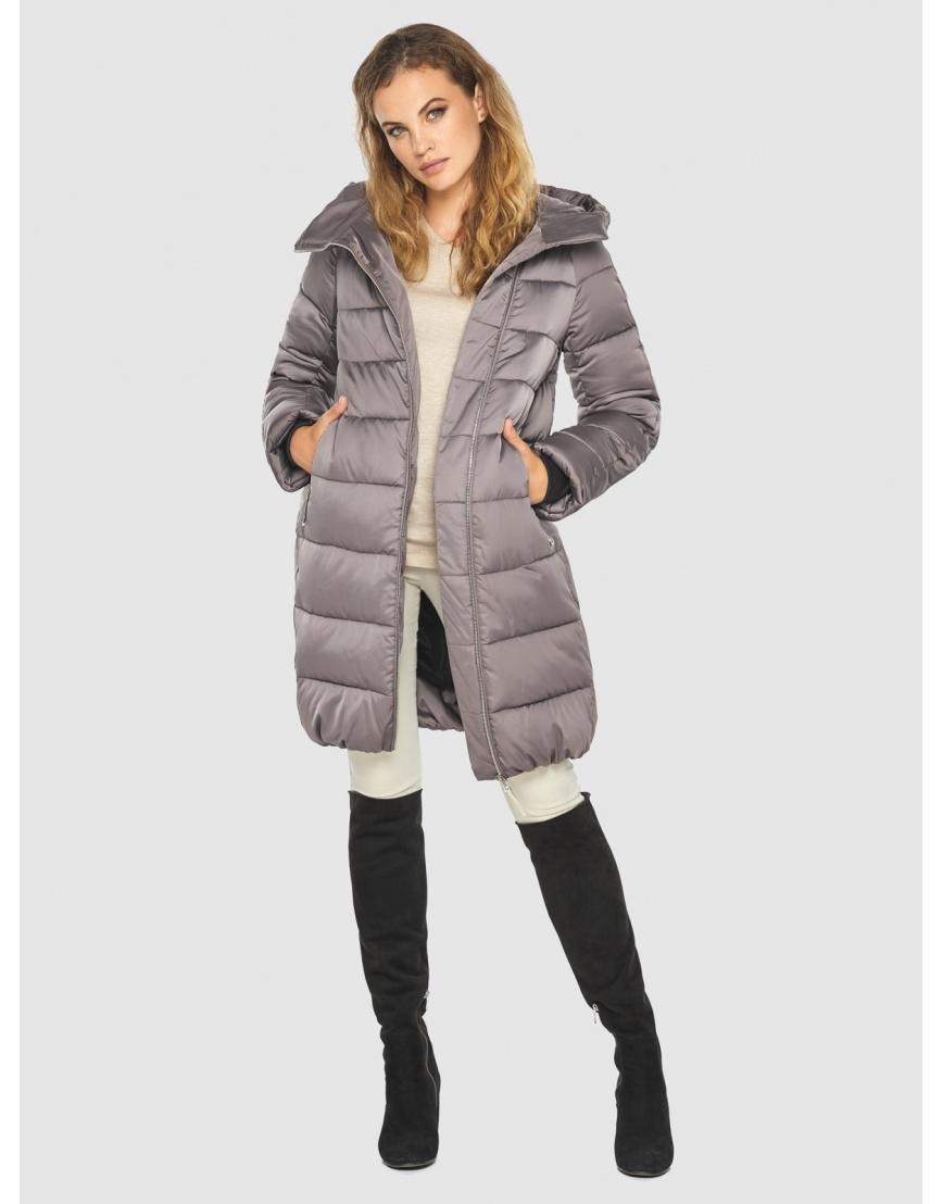 Женская трендовая пудровая куртка Kiro Tokao 60048 фото 2