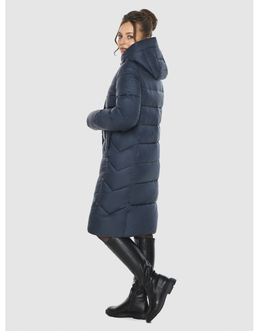 Брендовая куртка женская Ajento синего цвета 22975 фото 3
