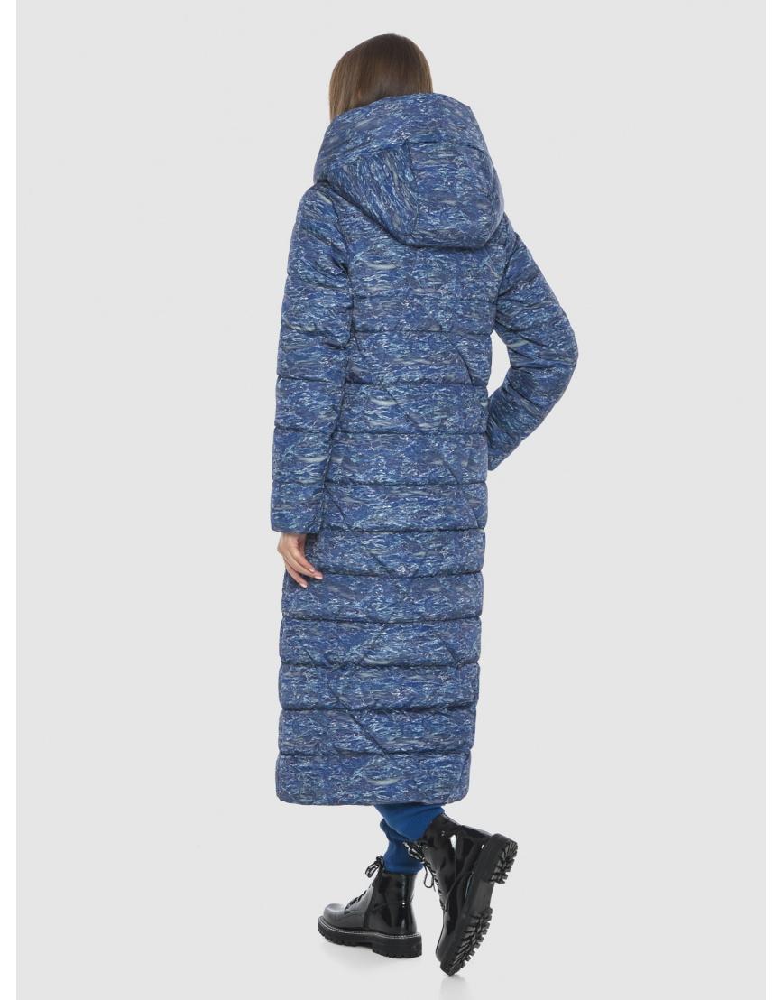 Люксовая куртка с рисунком зимняя Vivacana на подростка-девушку 9470/21 фото 4