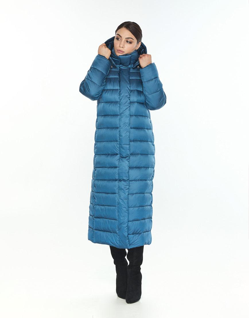 Женская куртка Wild Club удобная аквамариновая 524-65 фото 1