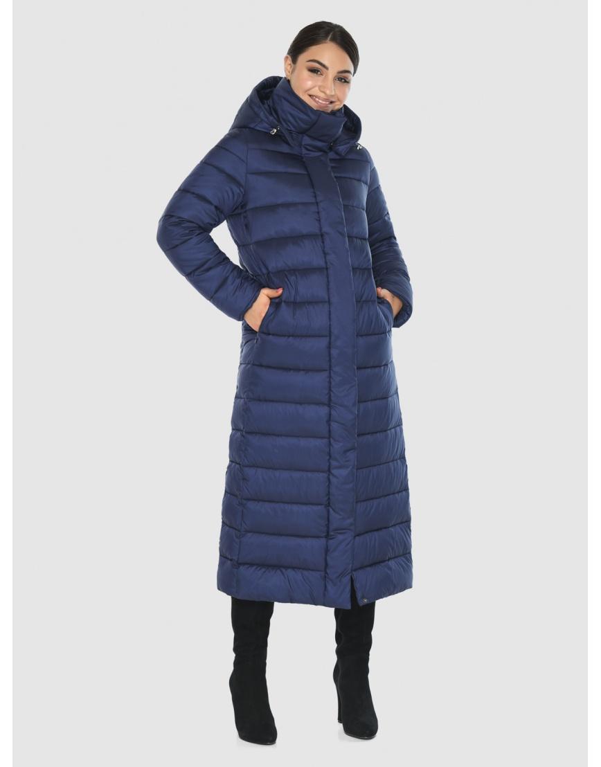 Эффектная женская куртка Wild Club синяя 524-65 фото 1