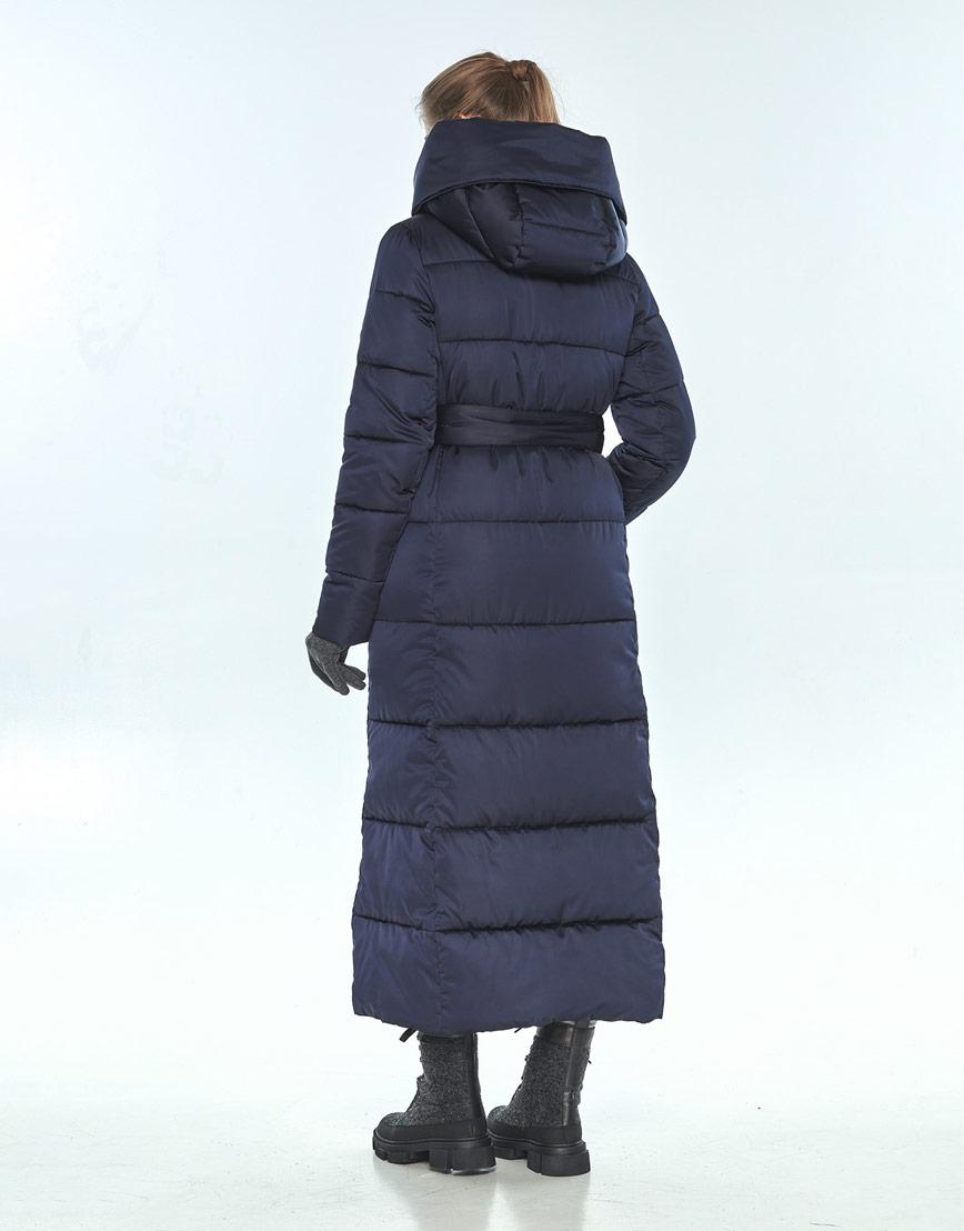 Удобная куртка синяя Ajento женская на зиму 22356 фото 3