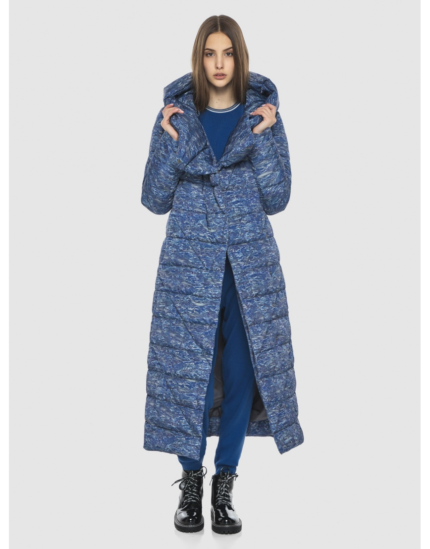 Люксовая куртка с рисунком зимняя Vivacana на подростка-девушку 9470/21 фото 6