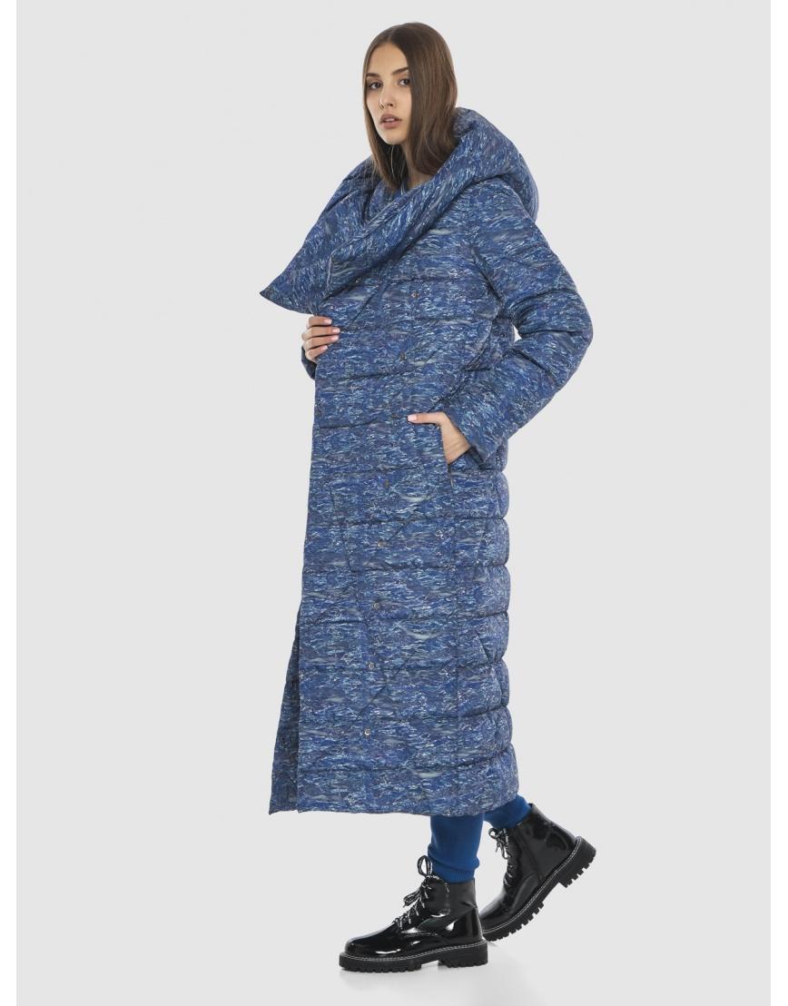Люксовая куртка с рисунком зимняя Vivacana на подростка-девушку 9470/21 фото 2