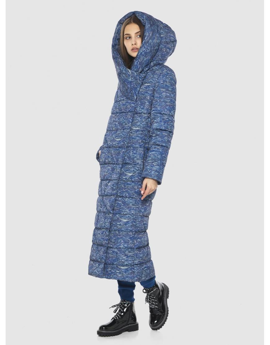 Люксовая куртка с рисунком зимняя Vivacana на подростка-девушку 9470/21 фото 5