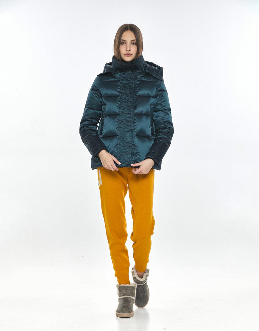 Куртка зелёная женская Vivacana фирменная 9742/21 фото 1