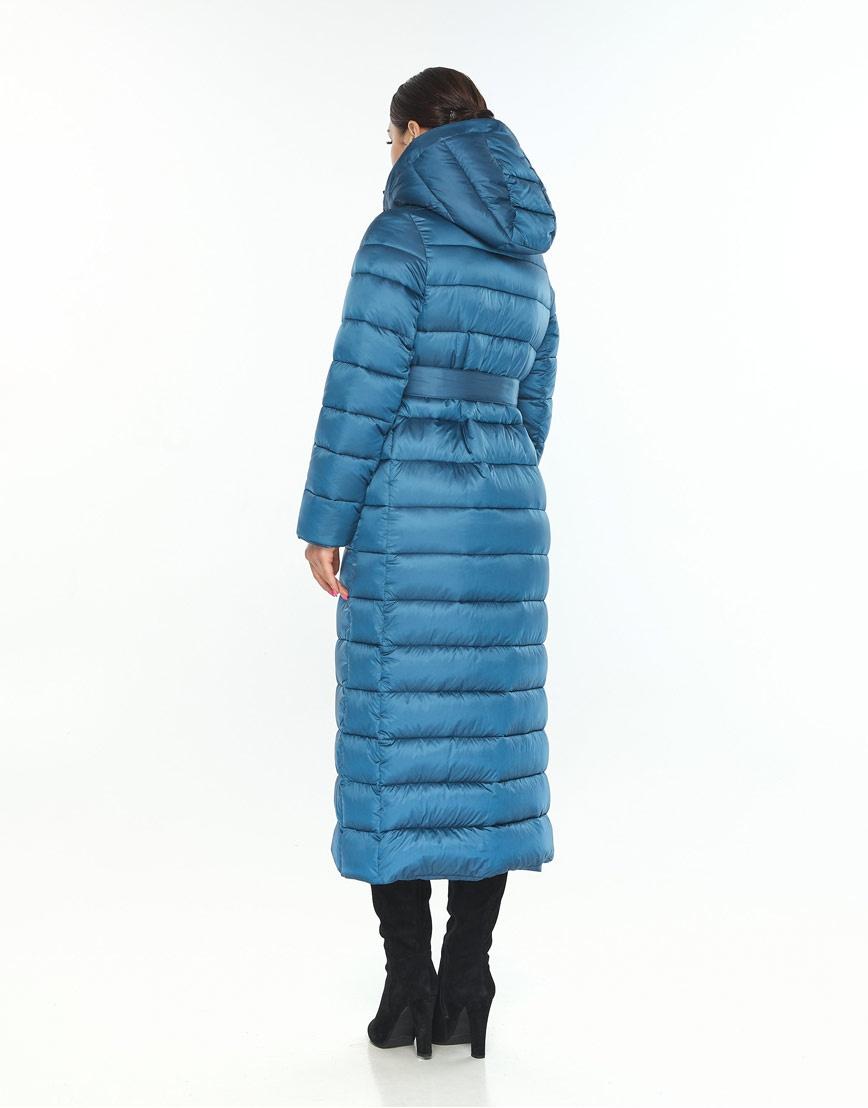 Женская куртка Wild Club удобная аквамариновая 524-65 фото 3