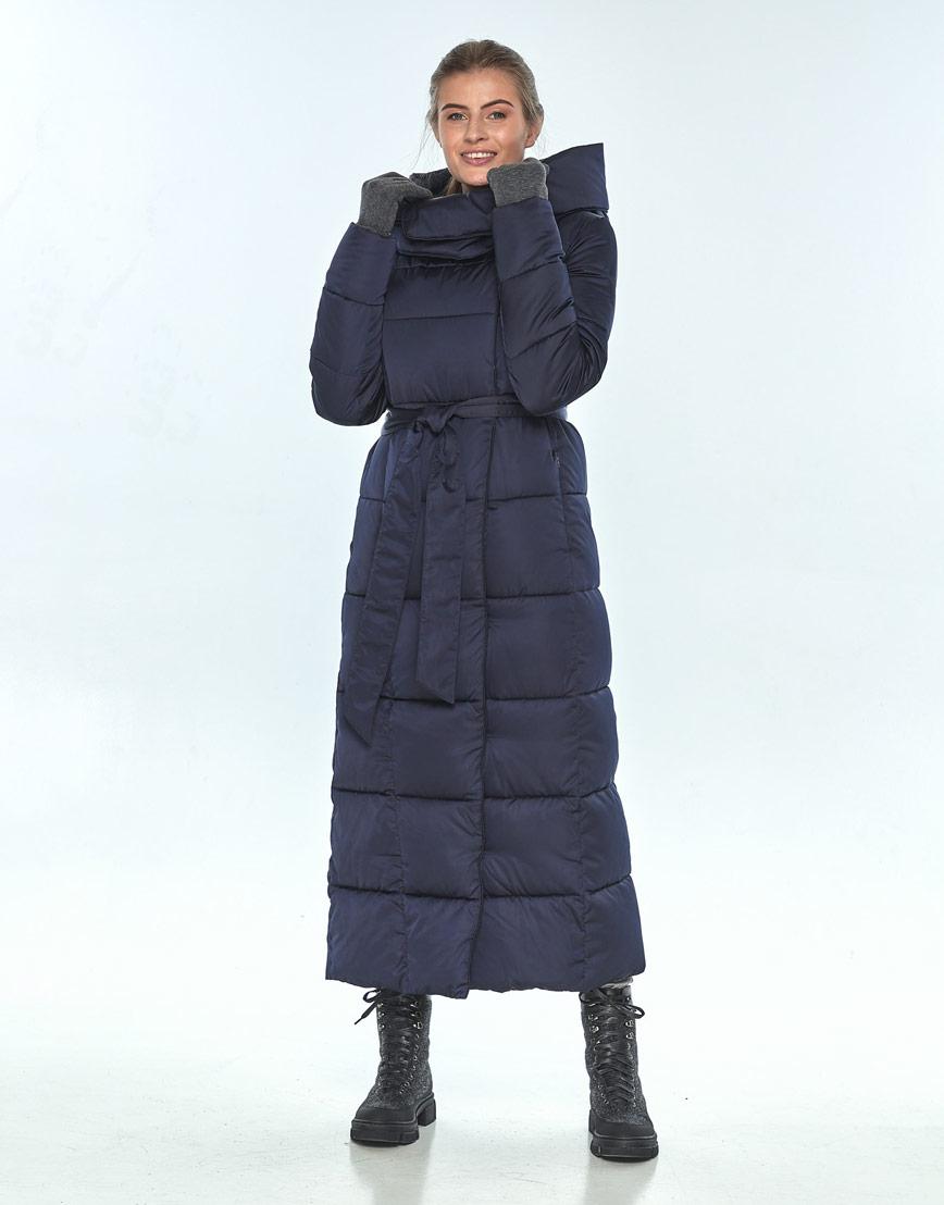 Удобная куртка синяя Ajento женская на зиму 22356 фото 1