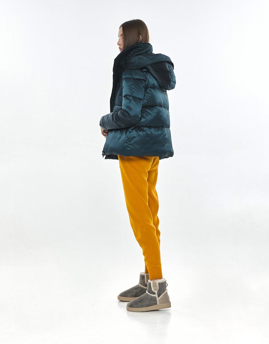 Куртка зелёная женская Vivacana фирменная 9742/21 фото 3